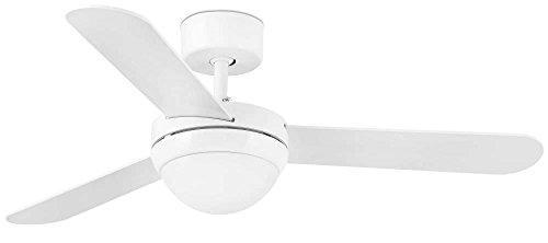 Faro 33600 - FEROE Ventilatore da soffitto bianco