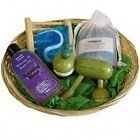 French Kiss Bathroom Gift Basket. Makes an Ideal gift! Relax and Unwind!