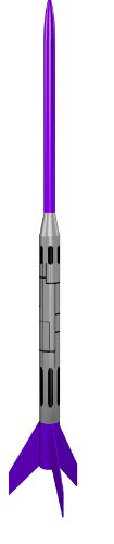 Estes Longneck Express Model Rocket Kit