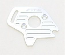 ST Racing Concepts ST6890S Aluminum Heatsink Finned Motor Plate for Slash 4 x 4, Silver - 1