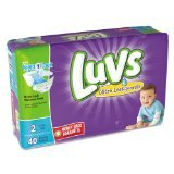 Luvs Ultra Leakguards Diapers - Size 2 - 40 ct (Discontinued by Manufacturer)