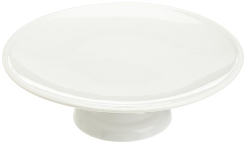 Kitchen Supply 8146 White Porcelain 10 Inch Cake Stand