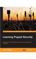 Learning Puppet Security Front Cover
