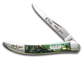 Case Xx 125Th Anniversary Morning Mist Small Toothpick Stainless Pocket Knife Knives