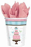 Bridal Shower 'Blushing Bride' 9oz Paper Cups (18ct) - 1