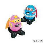Superhero Easter Egg Decorating Craft Kit - Makes 12