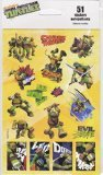 Nickelodeon Teenage Mutant Ninja Turtles 51 Stickers - 1