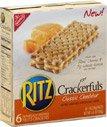 Nabisco Ritz Crackerfuls Classic Cheddar Filled Crackers, 6.0 PK (6 Pack)