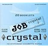 JOB King Size Crystal Clear Transparent Rolling Papers 10 Packs