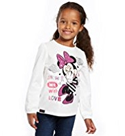 Pure Cotton Minnie Mouse T-Shirt