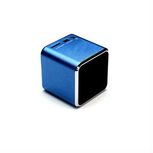 Mini Tf Card Mp3 Speaker Portable Speaker (Blue) front-419226
