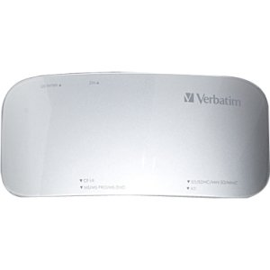 Verbatim USB 3.0 Universal Card Reader - 97706 (Black)