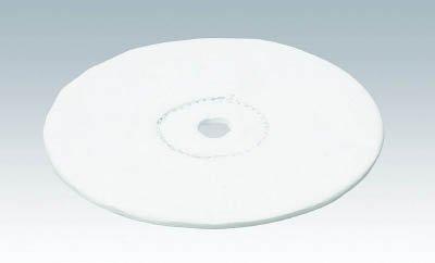 TRUSCO キャラコ仕上げバフ 外径Φ150×穴径12.7mm 5個入