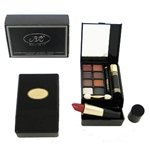 NEW Travel Make up kit with Double layer W/ eyeshadows, blush and lipstick