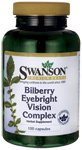Swanson Bilberry Eyebright Vision Complex 100 Caps