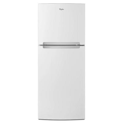 Whirlpool 10.7 cu. ft. Top Freezer Refrigerator in White (Top Freezer Refrigerator In White compare prices)