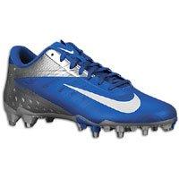 Nike Vapor Talon Elite Low TD Football Cleats (13, Sport Royal/White-Chrome)