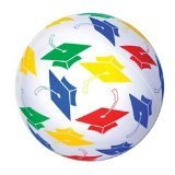 Grad Beach Ball Party Accessory (1 count) (1/Pkg)