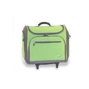 Cricut Machine Rolling Storage Tote Bag! Green