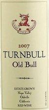 Turnbull Old Bull Red 2007