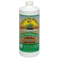 Aloe Vera Gel, Herbal Detoxifying Formula, 1 Quart, From Lily Of The Desert
