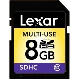 LEXAR 8GB SDHC CLASS 10