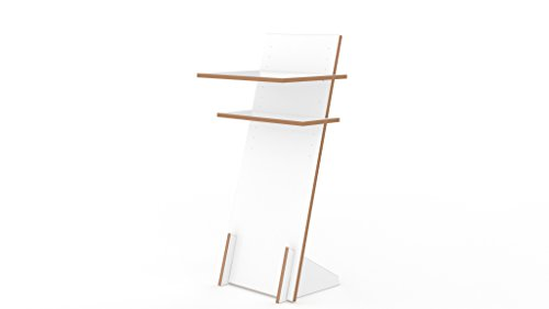 Tojo 151011058 Schreibtisch, 120 x 50 x 5 cm, Weiß