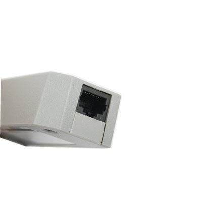 USB 2.0 LAN Adatper works with Nintendo Wii by eForCity