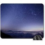 Firmament The Mouse Pad, Tappetino per Mouse-Mouse Pad), colore: azzurro cielo
