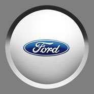 Center Caps, With Ford Logo for Ford Edge (Ford)