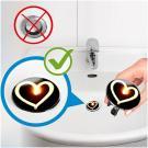 WENKO Pluggy XL Waschbeckenstöpsel mit leuchtenden Motiven