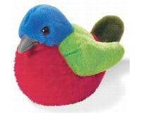Bunting - Audubon Plush Bird (Authentic Bird Sound)