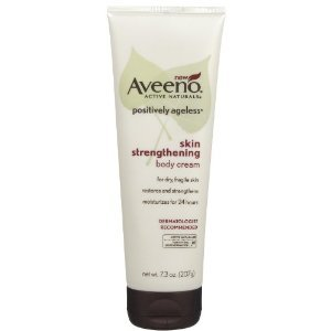Aveeno Positively Ageless Skin Strengthening Body Cream, 215 ml
