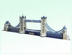 Cheap CALEBOU 3D 3D London Tower Bridge in Britain England Puzzle Model (B002SL5P90)