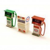 MODEL GARAGE PETROL PUMPS AND OIL CABINET by HOBBY'S