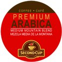 SECOND CUP MOUNTAIN ROAST COFFEE 96 Single serve