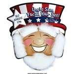 Patriotic Uncle Sam Facial Hair 1 Count - 1