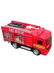 FIRE RESCUE PULLBACK TRUCK - 1