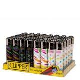 Clipper Lighter Classic Flint Monogram & Zebra 40 PACK