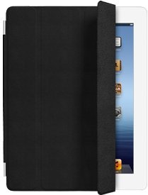 Apple iPad 2 Leather Smart Cover - Black (MC947LL/A)
