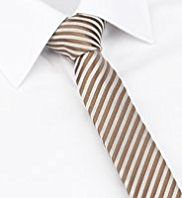 Autograph Skinny Striped Tie