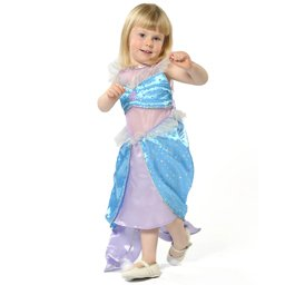 Mädchen Meerjungfrau Kostüm 7-9 Jahre [Spielzeug]
