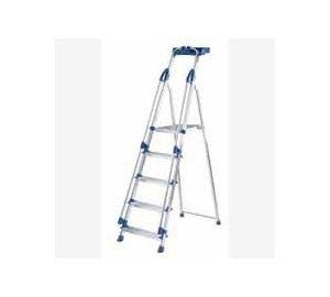 Blue Seal Aluminium Platform Stepladders 5 Tread (10505)