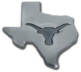 University of Texas Longhorns UTX Debossed State Logo