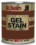 Old Masters 80708 Gel Stain Pint, Dark Walnut by Old Masters (Old Masters Dark Walnut Gel Stain compare prices)