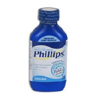 Phillips' Milk of Magnesia Laxative/Antacid, Liquid, Original, 4 fl oz (118 ml)