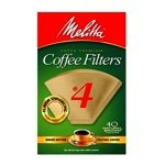 Melitta #4 Cone Coffee Filter (40 Pack) (3-Pack)