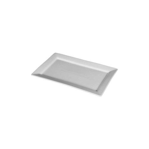 Cheap Buffet Euro Porcelain White Rectangular Platter (C 1811)