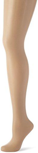 Nur Die Damen Strumpfhose Seidenfein, 15 DEN, Gr. 48 (Herstellergröße: 44-48=L), Braun (teint 114)
