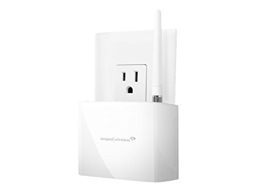 Amped Wireless High Power 600mW Compact Wi-Fi Range Extender (REC10) image